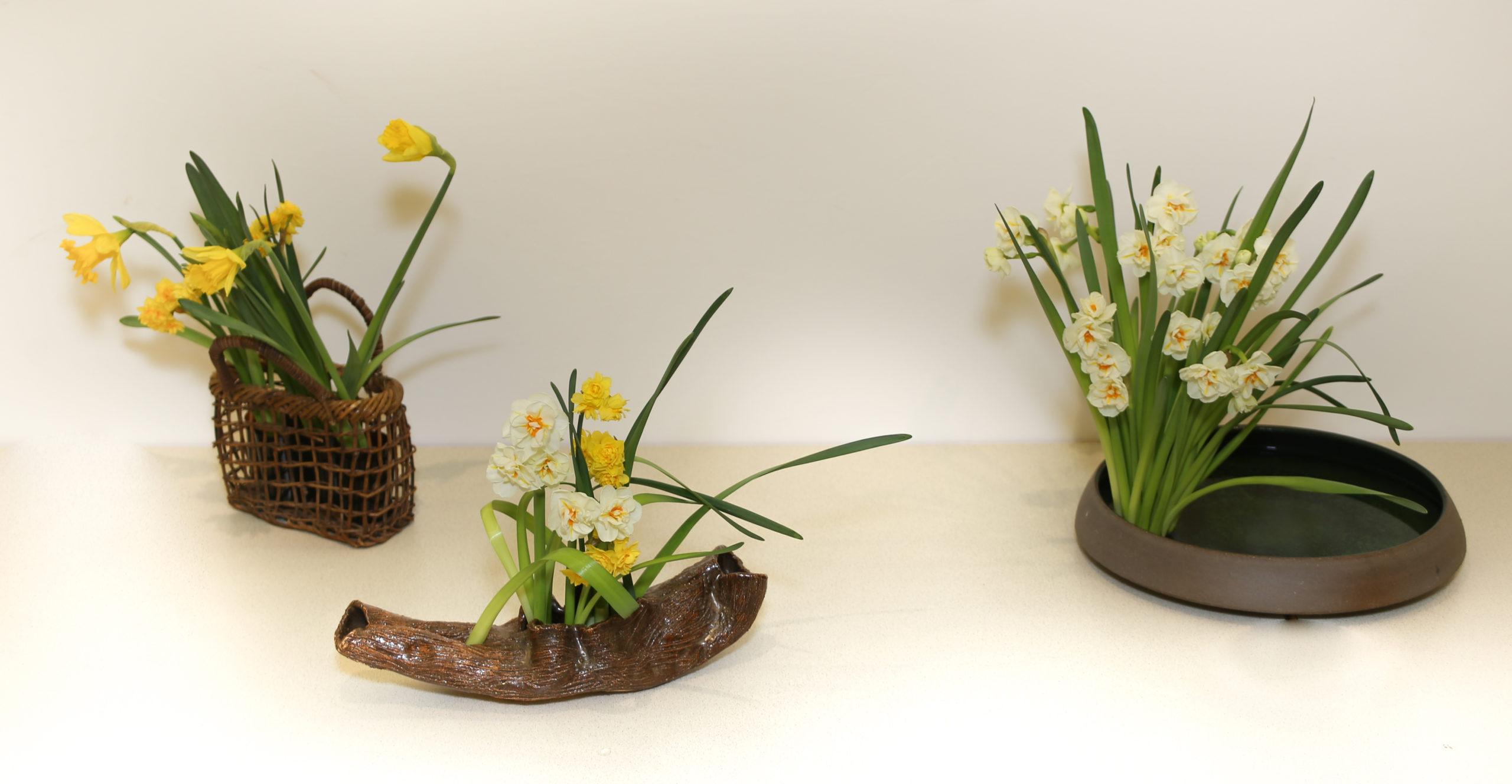 Ikebana-International Vienna beim Japanisches Frühlingsfest in Baden 2018