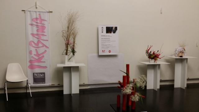 Ikebana International Ausstellung Scrooge