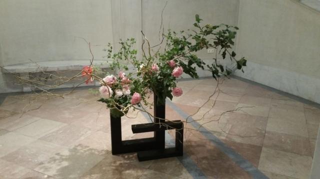 Ikebana-Demonstration von Eikou Sumura im Weltmuseum Wien