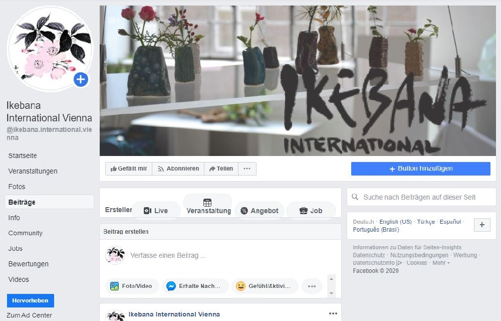 I.I. bei Facebook