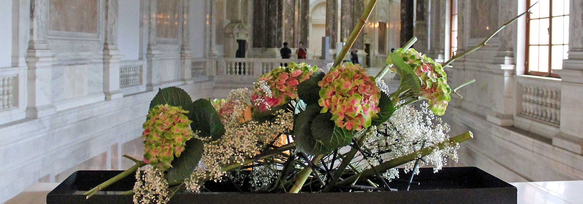 Ikebana-International Vienna in der Neuen Burg