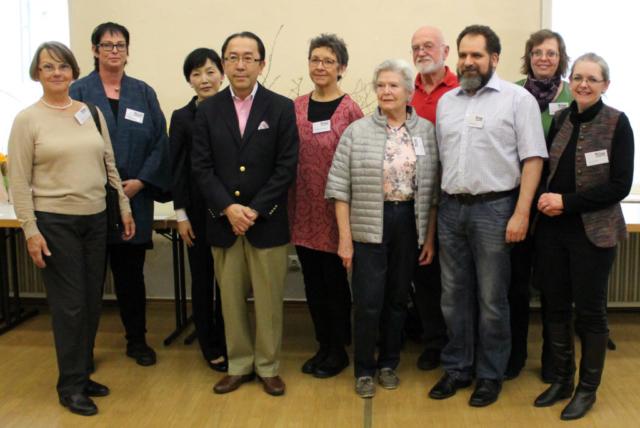 Ikebana-International Ausstellung Japanisches Frühlingsfest in Baden 2017