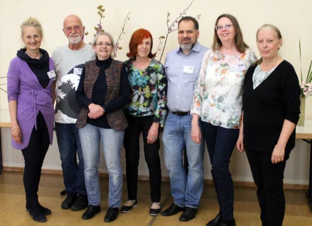 Ikebana-International Vienna zum Japanischen Frühlingsfest in Baden 2019