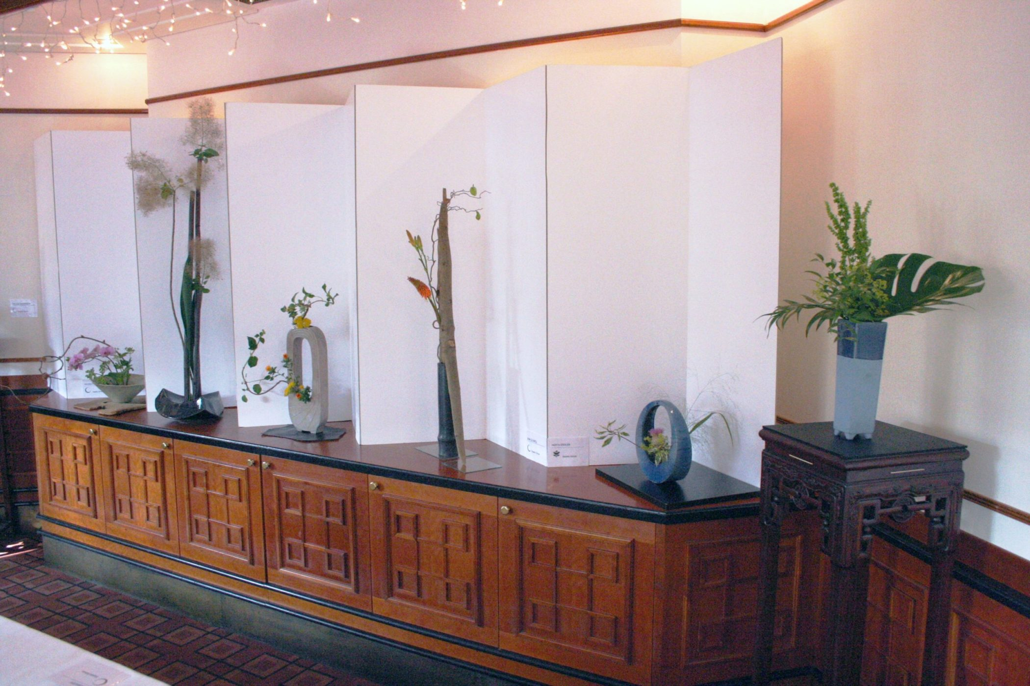 Ikebana-International Vienna Ausstellung im China-Restaurant Sichuan