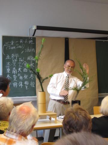 Ikebana-International Vienna im Institut für Philosophie