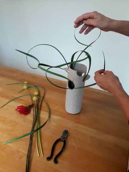 Ikebana trifft Papier