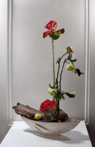 Ikebana-International Vienna Ausstellung im Museum für Völkerkunde Herbst 2009