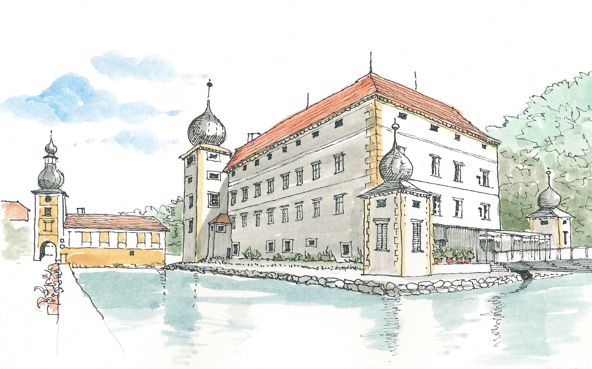 Exhibition at Kottingbrunn castle