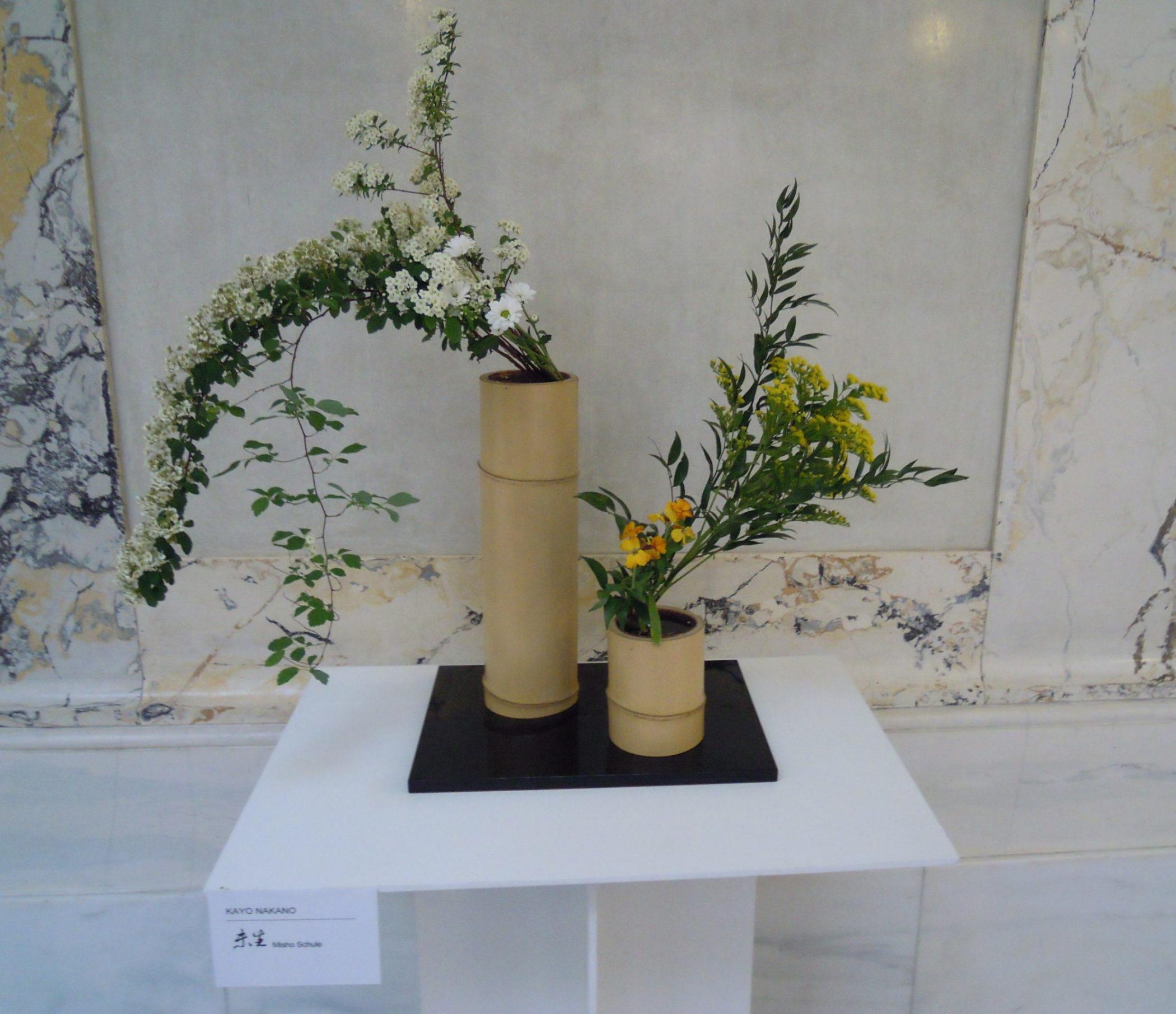Ikebana-International Vienna Benefiz-Veranstaltung für Japan