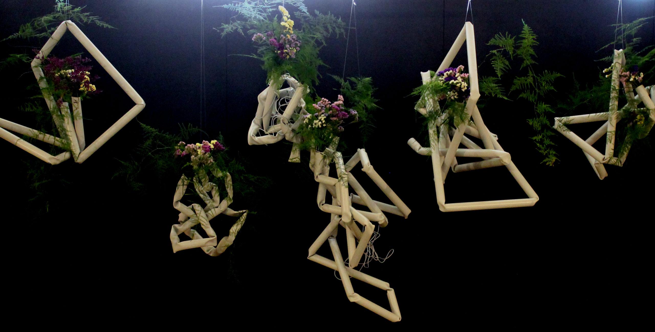 Ikebana-International Vienna Ausstellung Tanabata-Sternenfest